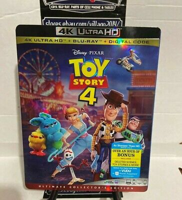 Toy Story 4 4K Blu-ray Digital Slipcover  NEW FREE~First Class Shipping!