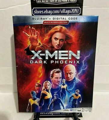 X-Men Dark Phoenix (Blu-ray + Digital Code) Brand New W/Slipcover Free Shipping