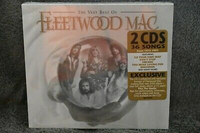 The Very Best Of Fleetwood Mac (Cd, 2002 - 2 Disc Set) New/Sealed!