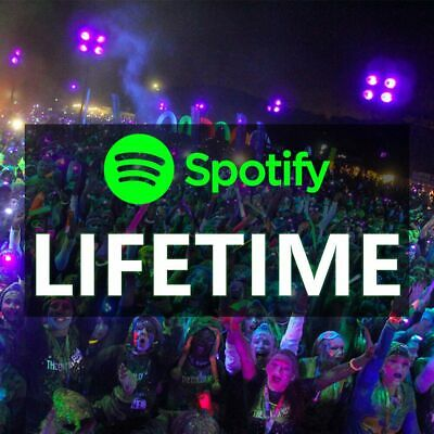 Spotify Lifetime Premium Upgrade| Account Warranty |Personal Account Upgraded
