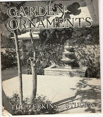 Vintage Catalog of Garden Fountains,  Statues, Ornaments