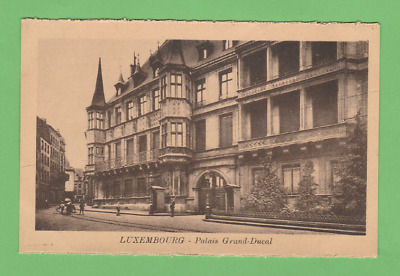 LUXEMBOURG  -  Palais Grand Ducal vers 1930.