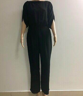 Wayne Cooper Black Jumpsuit Fit 6-8