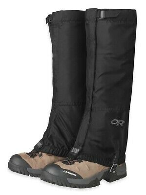 Outdoor Research Hombre Rocky Mountain Alto Polaina Arranque Polaina, L Negro