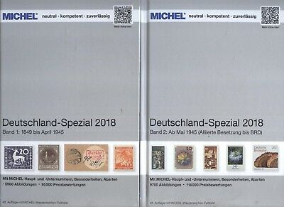 Michel Allemagne Spécial 2018 2 Tomes Complet Neuf