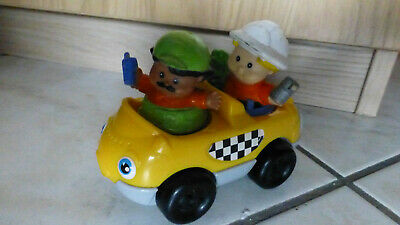 little people voiture jaune personnages