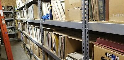 90  Vintage vinyl 33 RPM records bulk lot, re-sell, collect, craft