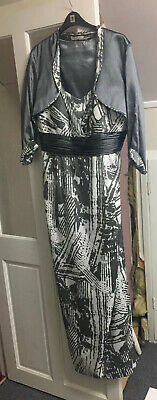 Gina Bacconi mother of the bride outfit size 20 with matching facinator