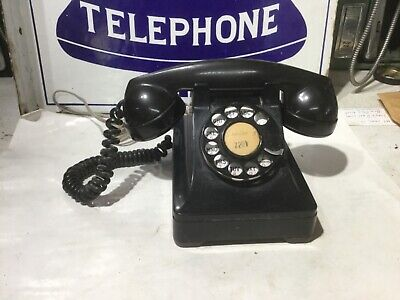 Western Electric Bell System 302 Old Plastic Telephone Phone Works