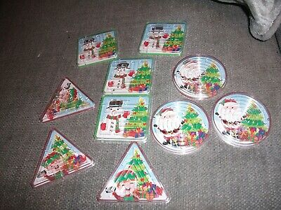 Christmas Maze Puzzles Party Bags or Stocking Filler