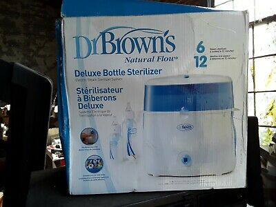 Dr. Brown's Electric Steam Sterilizer..Never Used,Box damaged