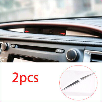 2015-2018 ABS Chrome Central control watch decoration Trim For Toyota highlander