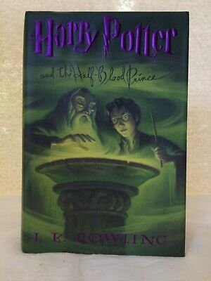 HARRY POTTER AND THE HALF-BLOOD PRINCE  First American Edition 2005 HC DJ
