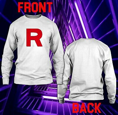 R Team Rocket Motto Anime Womens Baseball Top