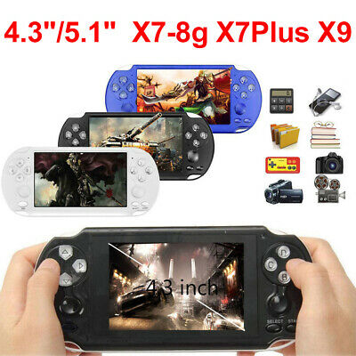 8GB 4.3'' 5.1'' Handheld PSP Game Console Player Portable Video Game Consoles UK