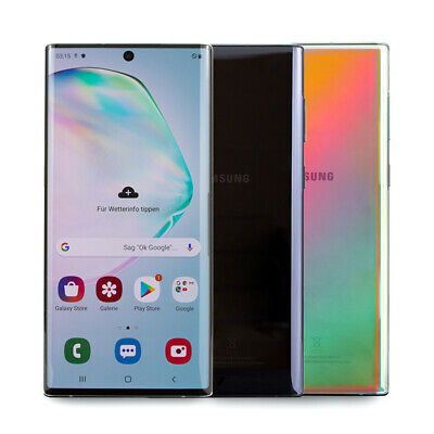 Samsung Galaxy Note 10 Plus Smartphone 6,8 Zoll Amoled Display 16MP Android WOW
