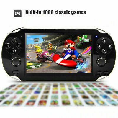 8GB 5.1'' Handheld PSP Game Console Player Built-in 1000 Games Portable Consoles