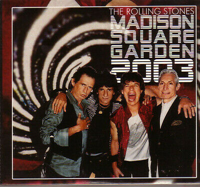 2 CD's  The  ROLLING  STONES - Madison Square Garden 2003 - FM Broadcast