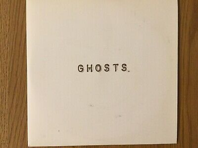 """Ghosts """"Musical Chairs"""" 7"""" vinyl single,"""