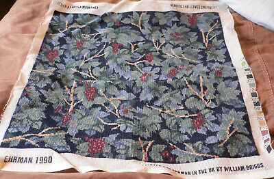 Ehrman Tapestry - Berries & Leaves Chairseat - Nicola Mountmey