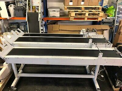 Electric Delivery Conveyor - Delivery Belt - Direct Mail - Print Finishing
