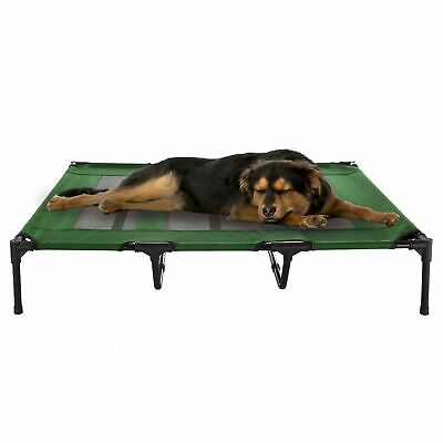 XL Dog Bed Indoor Outdoor Raised Elevated Cot and Travel Case 48 x 35 In