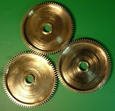 Clock Parts - Gears Cogs Polished Brass Steampunk Model Makers Art Free Postage
