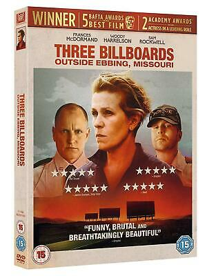 THREE BILLBOARDS OUTSIDE EBBING, MISSOURI (DVD) ACADEMY AWARD FRANCES McDORMAND