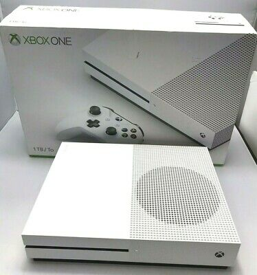 Microsoft Xbox One S 1TB Console - White Console Only --- Free Shipping READ