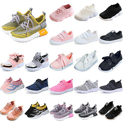 Kids Boys Girls Sports Shoes Athletic Trainers School Running Training Sneakers