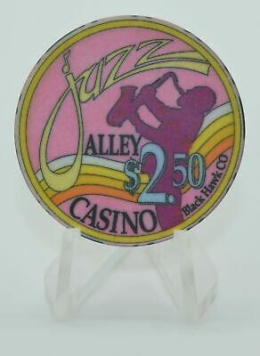 Jazz Alley $2.50 Casino Chip Black Hawk Colorado ChipCo.