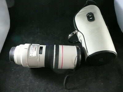 Canon EF 300MM 1:4 L IS  Image Stabilizer Ultrasonic