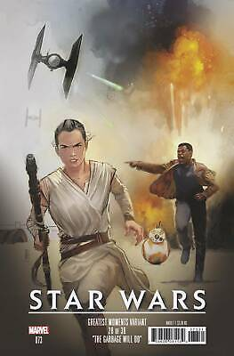 Star Wars #73 Reis  Greatest Moments Variant Marvel Comics 1st print 2019 NM