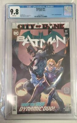 BATMAN #77 Graded CGC 9.8 Death of Alfred! Tony S Daniel cover Tom King DC Comic