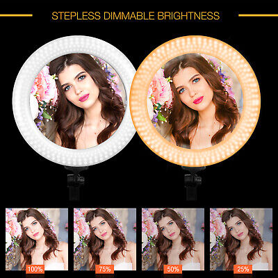 "18"" LED Ring Light with stand for Photo Studio, Vedio Beauty Makeup"