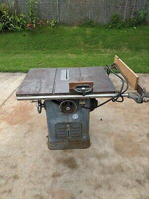 Delta Unisaw Rockwell 10 Table Saw 85-110, Wired For 230 Volt Free Shipping!!