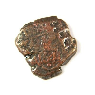 Pirate Treasure Era Spanish Colonial Coin Date 1641 - Exact Lot Shown 2842