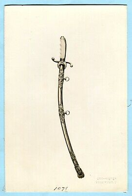 Antique MC LILLEY Archive Photo SHRINER SWORD Masonic Regalia Catalog Proof