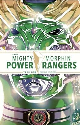 MIGHTY MORPHIN POWER RANGERS YEAR ONE DELUXE HC Hardcover 1 MMPR Boom