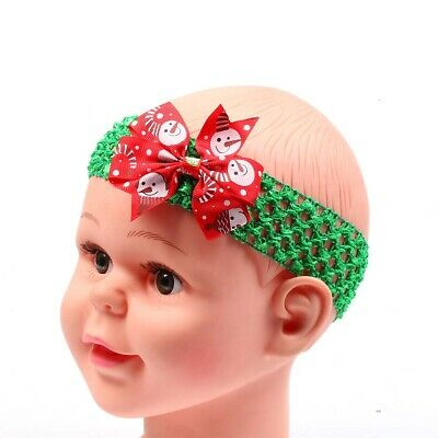 Baby Headband Toddler christmas Headwear Infant Kids Girl Newborn Bow tiara