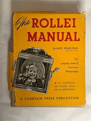 The Rollie Manual, by Alec Pearlman, Hardback Book