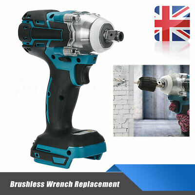 Torque Impact Wrench Cordless Brushless Replacement For Makita Battery 350N.M UK