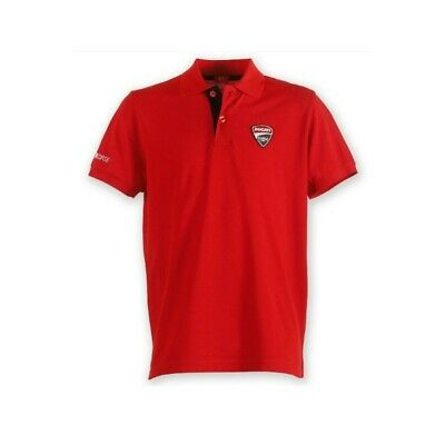 Ducati Corse 12 Corporate Polo-Shirt Größe M