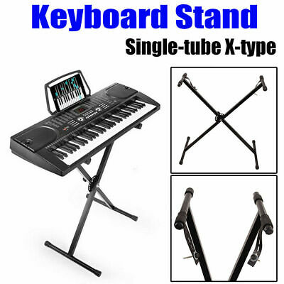Adjustable Keyboard Electric Piano Z-Stand Iron Standard Foldable Rack Stands UK