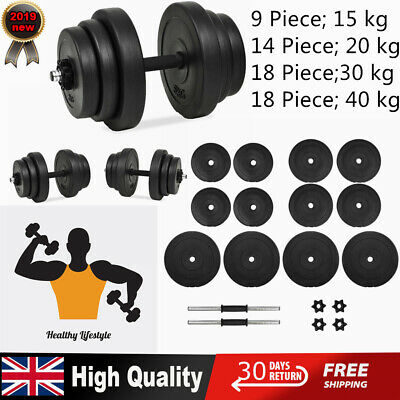 Dumbbell Set Gym Fitness Free Weights Strength Exercise Non-slip Bodybuilding