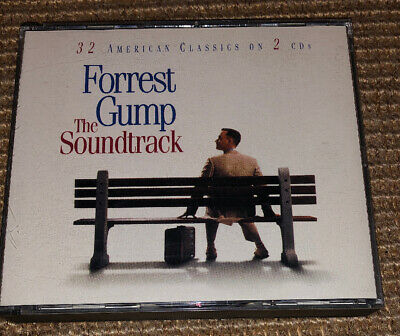 FORREST GUMP THE SOUNDTRACK 32 AMERICAN CLASSICS ON 2 CDsFOLK POP ROCK #C1