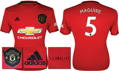 Maguire 5 - 19/20 Adidas Man Utd Home Shirt = Kids Size