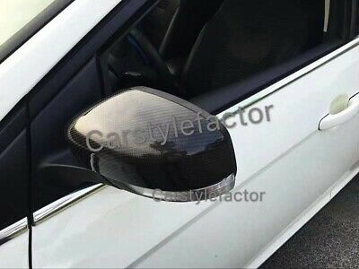 Ford Focus RS MK3 Real Carbon Fiber Wing Mirror Covers Replacement 2014+ OEM-FIT