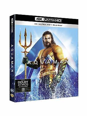 Blu Ray Aquaman (4K Ultra HD + Blu-Ray Disc) .....NUOVO