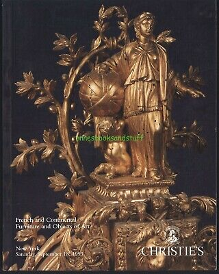 CHRISTIE'S # 7722 * French Continental Furniture Objects of Art * 1993 catalog